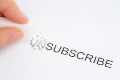 Avoid unsubscribes by giving the reader more options.